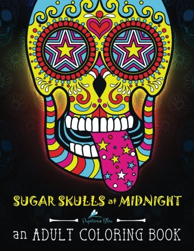 sugar-skulls-at-midnight-adult-coloring-book-a-unique-midnight-edition-black-background-paper-adult-