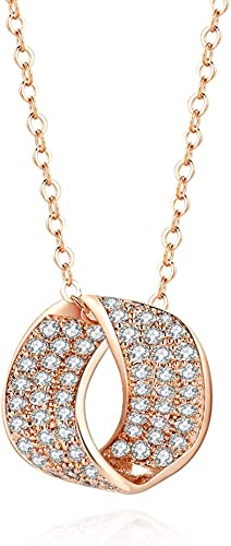14K Yellow Gold Plated Simulated Diamond Small Shell Sparkling Pendant Only