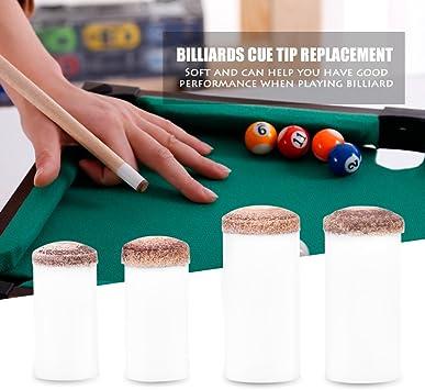 Tbest 10 unids Cue Tips Slip-on Billar Snooker Consejos de Billar ...