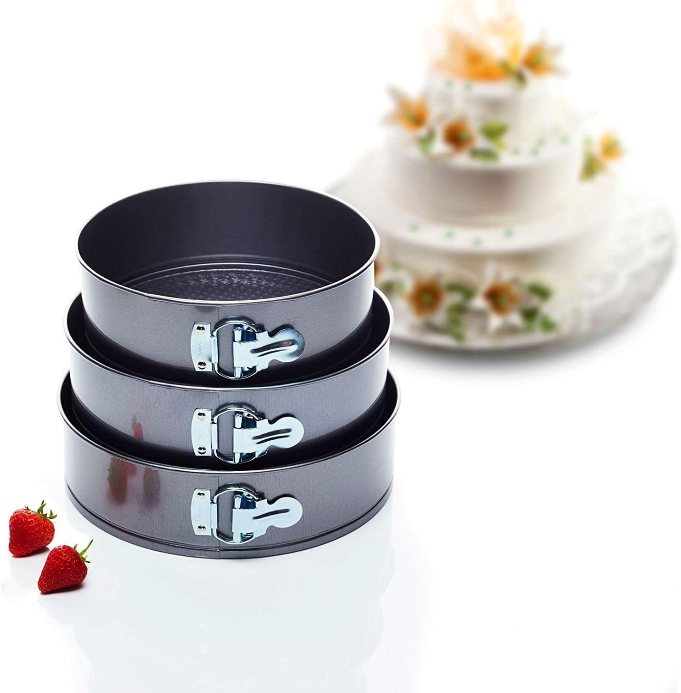 Kitchen Craft Cake Tin Set Juego de Fuentes para Tortas con ...