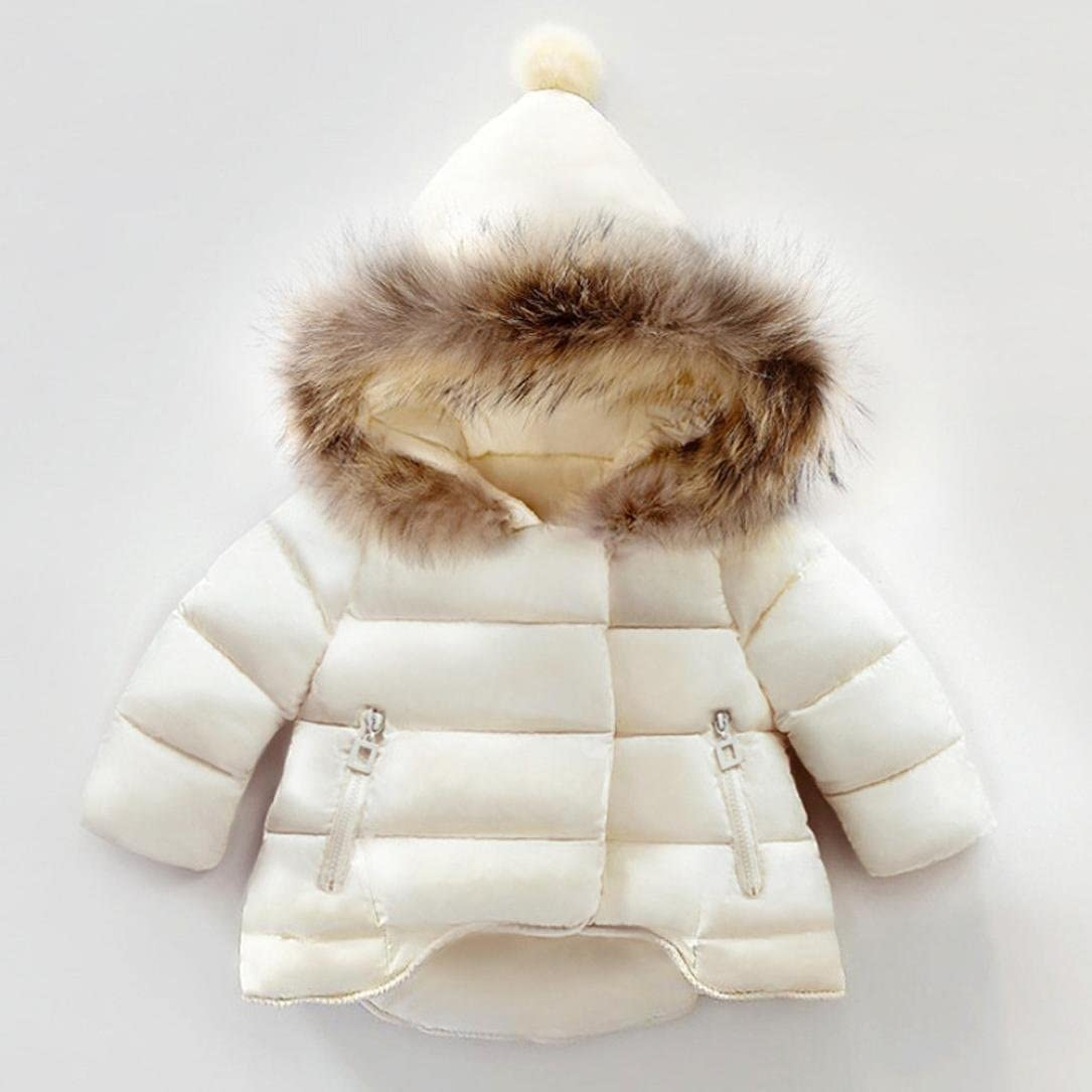 SMTSMT Infant Baby Girls Boys Kids Down Jacket Coat Autumn Winter Warm Clothes