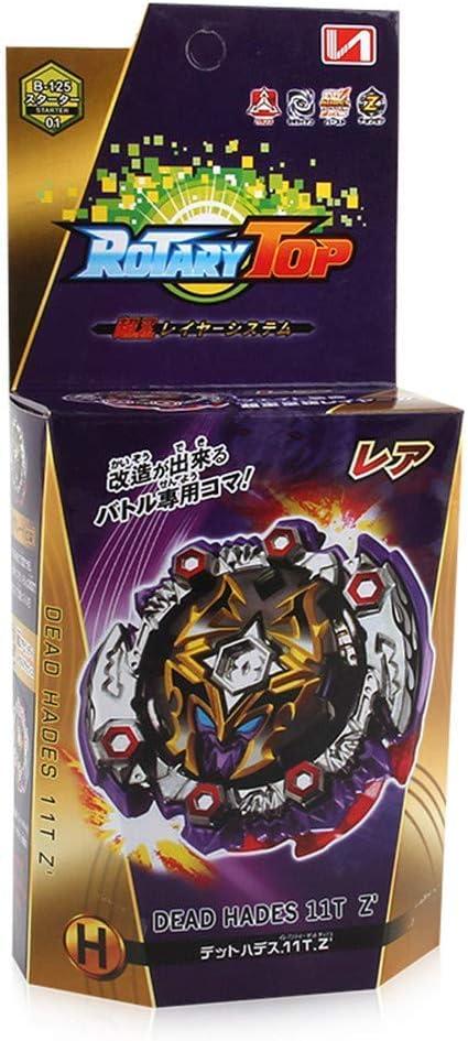 Color 4 Angel ZYJ Toupie Gyro 1 Single Top Pack Toupie et Lanceur Puzzle Jouets
