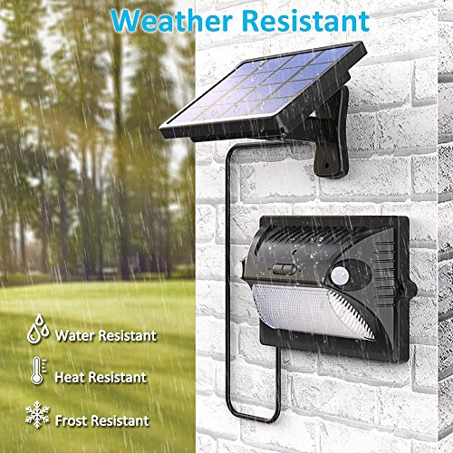 Solar Lights Outdoor Bcway Dual Motion Detector 180 194