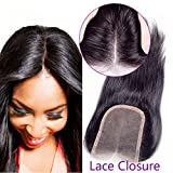 "Promotion! In Stock Remeehi 3.5x4 Silk Straight Top Lace Frontal Closure 160% Brazilian Human Hair (16"" 6# Chestnut Brown)"