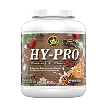 b7ae2aaa9179f4 All Stars Hy Pro 85 Limited Winter Edition Gingerbread (1000g)   Amazon.co.uk  Health   Personal Care