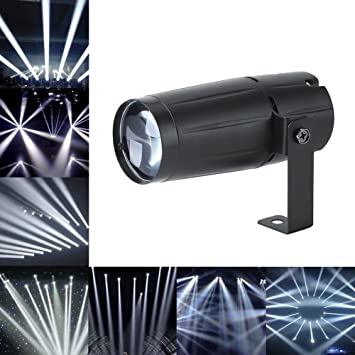 Pinspot Light U`King 3W Mini Stage Lights DJ Spotlight Track Lighting for Home Decoration  sc 1 st  Amazon.com & Amazon.com: Pinspot Light U`King 3W Mini Stage Lights DJ Spotlight ...