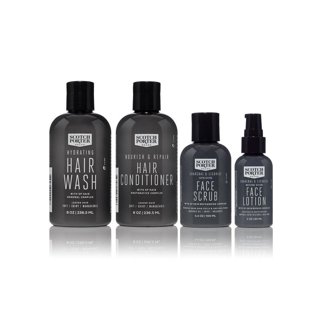 Amazon.com  Scotch Porter Essential Hair   Face Collection. Men s ... 34fe3fdec