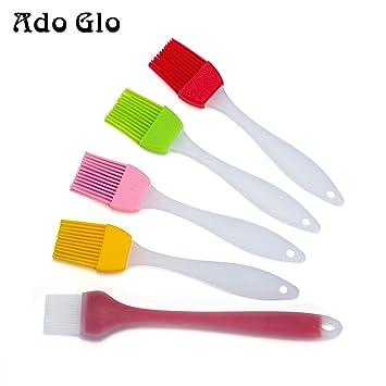Ado Glo Ashley Silicook – Brocha de silicona para cocina y repostería Set de 5 –