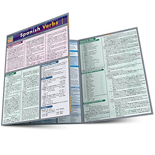 Pdf Education Spanish Verbs (Laminated Reference Guide; Quick Study Academic)