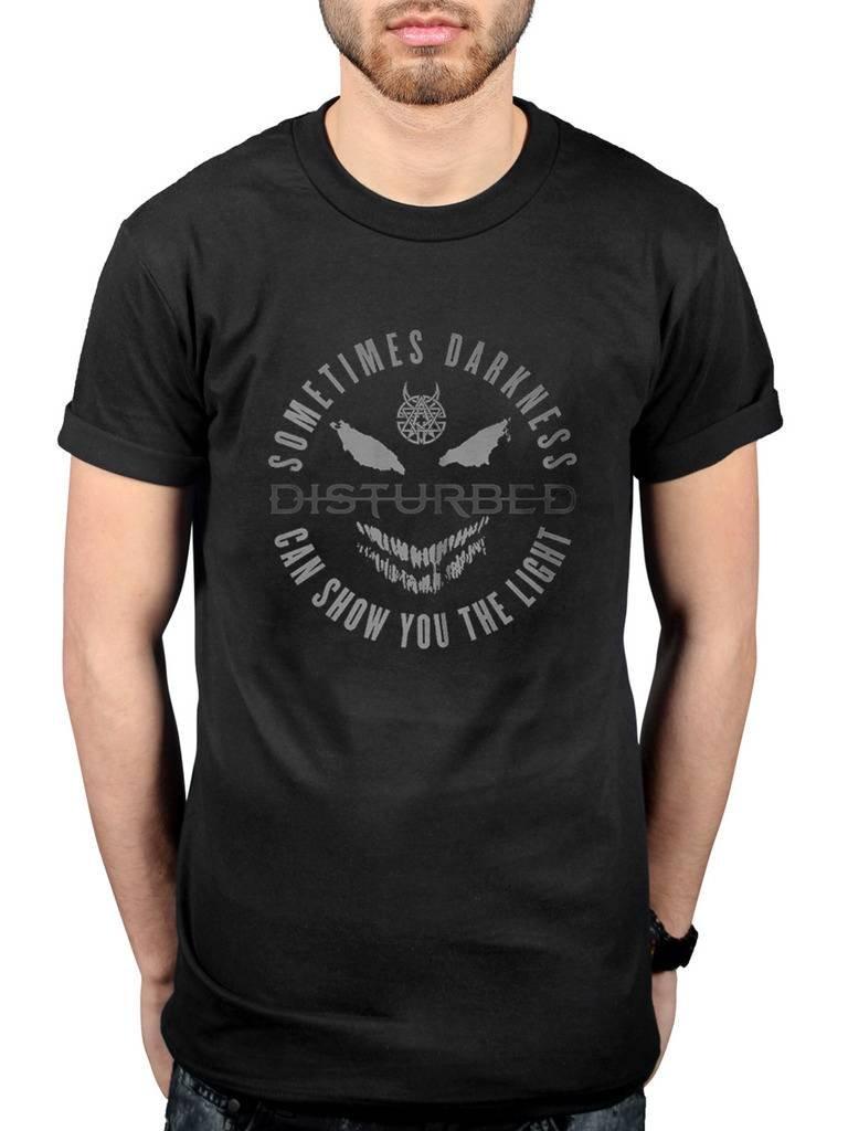 Official Disturbed The Light Tonal T-Shirt