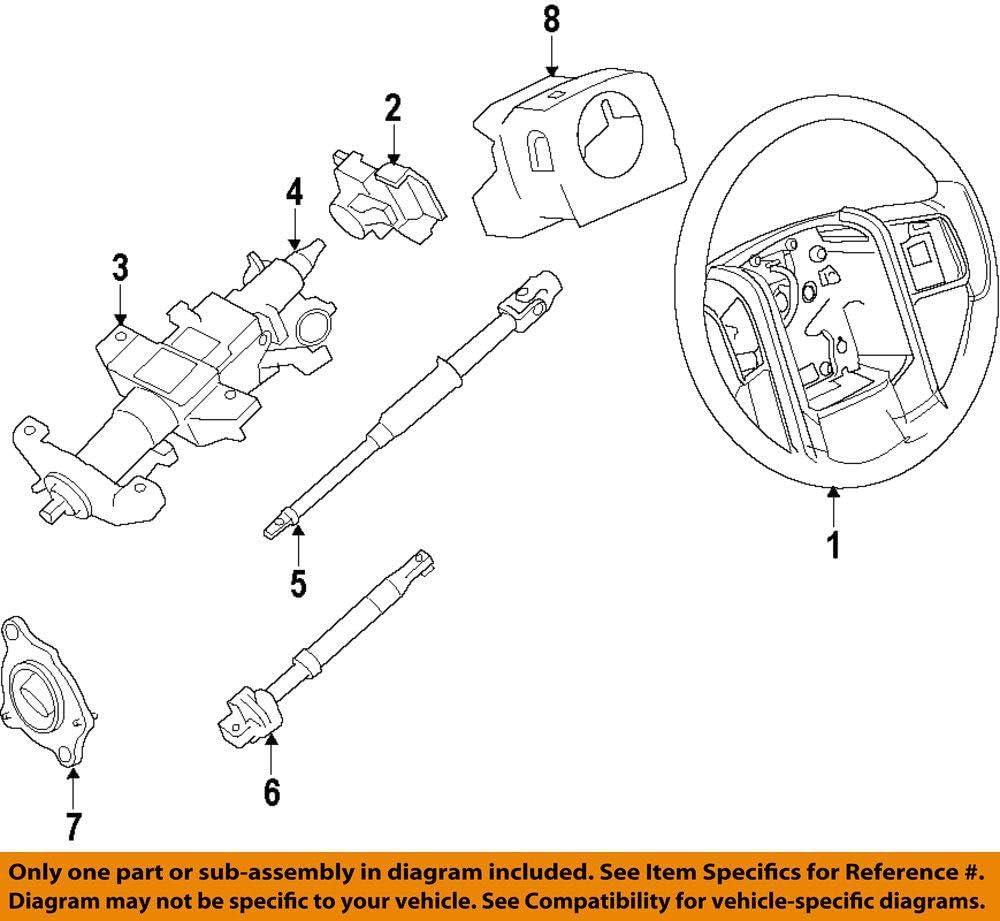 Amazon Com Ford Dl3z 3f791 Da Housing Assembly Steering Column Automotive