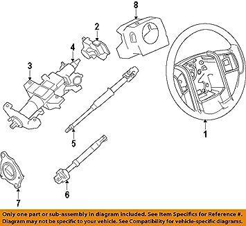 Amazon com: Ford DL3Z-3F791-DA - Housing Assembly Steering