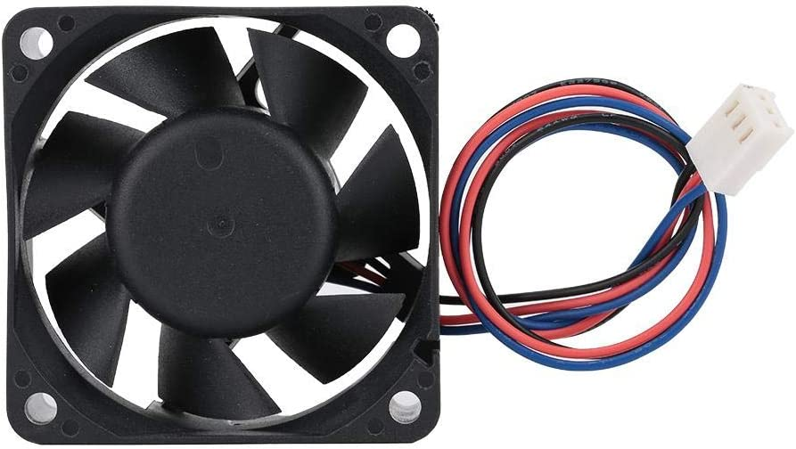 ASHATA Industrial Cooling Fan,Cooling Radiator Fan Double Ball Bearing Large Air Volume for Yaskawa Frequency Converter IPC