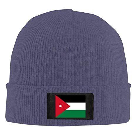 428c9af7454f79 Amazon.com  Jordan Flag Unisex Warm Winter Wool Hat Knit Beanie Skull Cap   Clothing