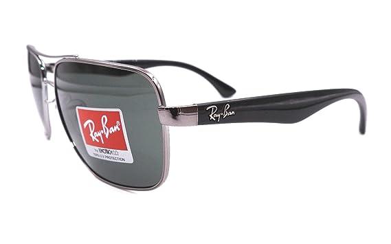 678e877d8b Amazon.com  Sunglasses Ray-Ban RB 3483 004 71 GUNMETAL  Clothing