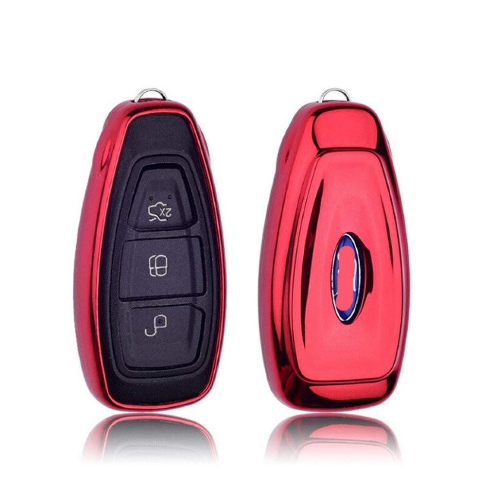 FQD&BNM Cubierta de la Llave del Coche Soft TPU Car Key ...