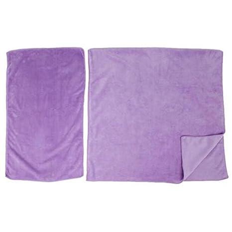 Unisex elegante EJY suave de coral velvet de succión con tela de la toalla de baño