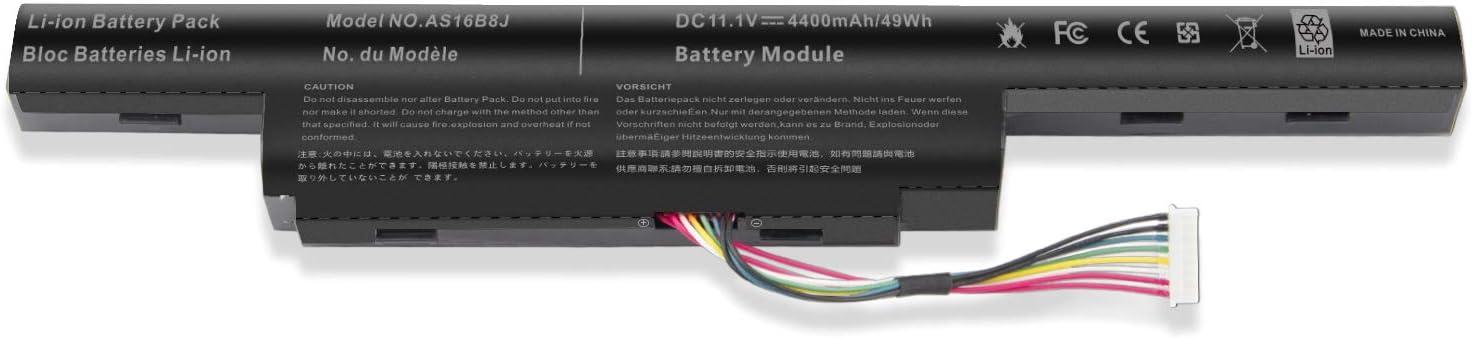 """AS16B5J AS16B8J Battery for 15.6"""" inch Acer Aspire E5-575G Acer Aspire E5-575G-53VG Acer Aspire E5-575G-75MD Acer Aspire E5-575G-5341"""