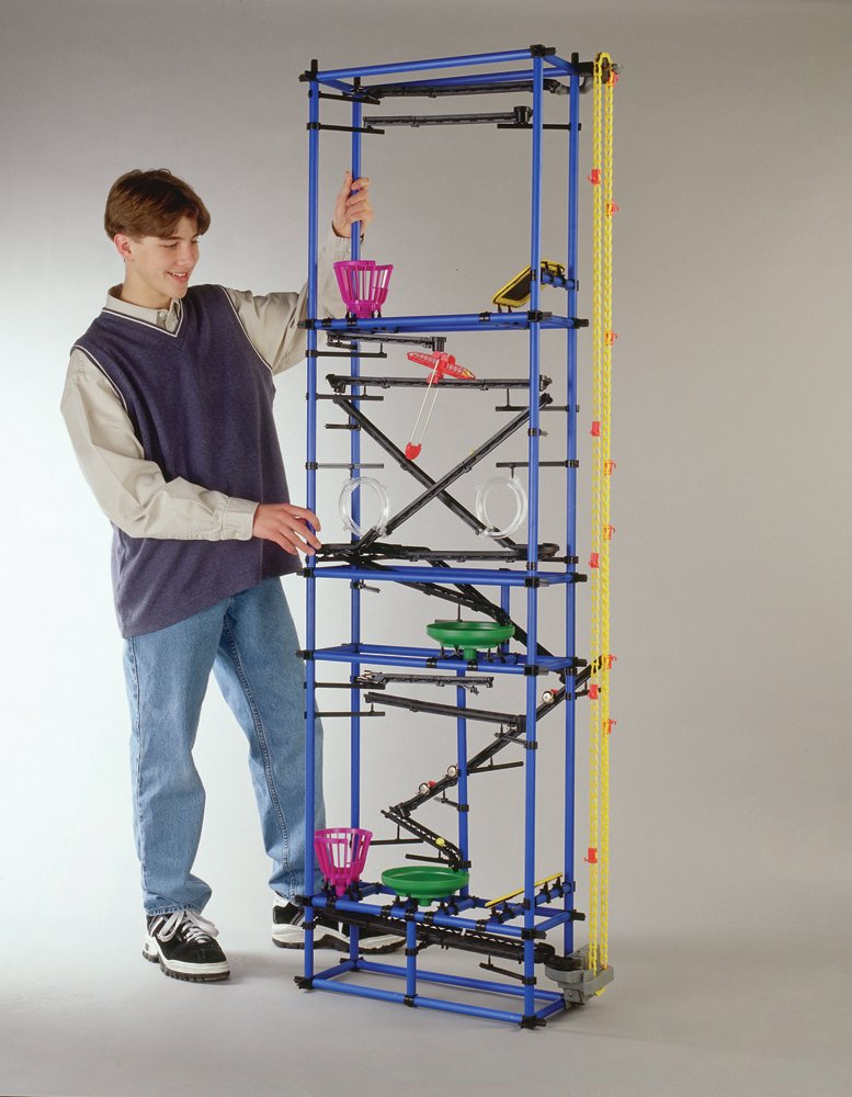 Chaos Millenium Tower - Marble Run Kit - Chain Reaction Game for Kids - Ages 8+, 602 Pieces, 78''