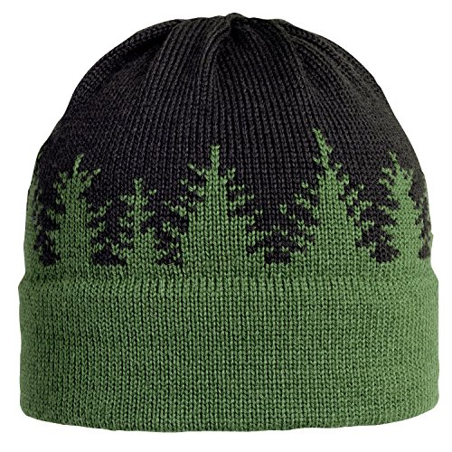 Vermont Originals 100% Wool USA Made Pine Tree Winter Beanie Hat made in Vermont