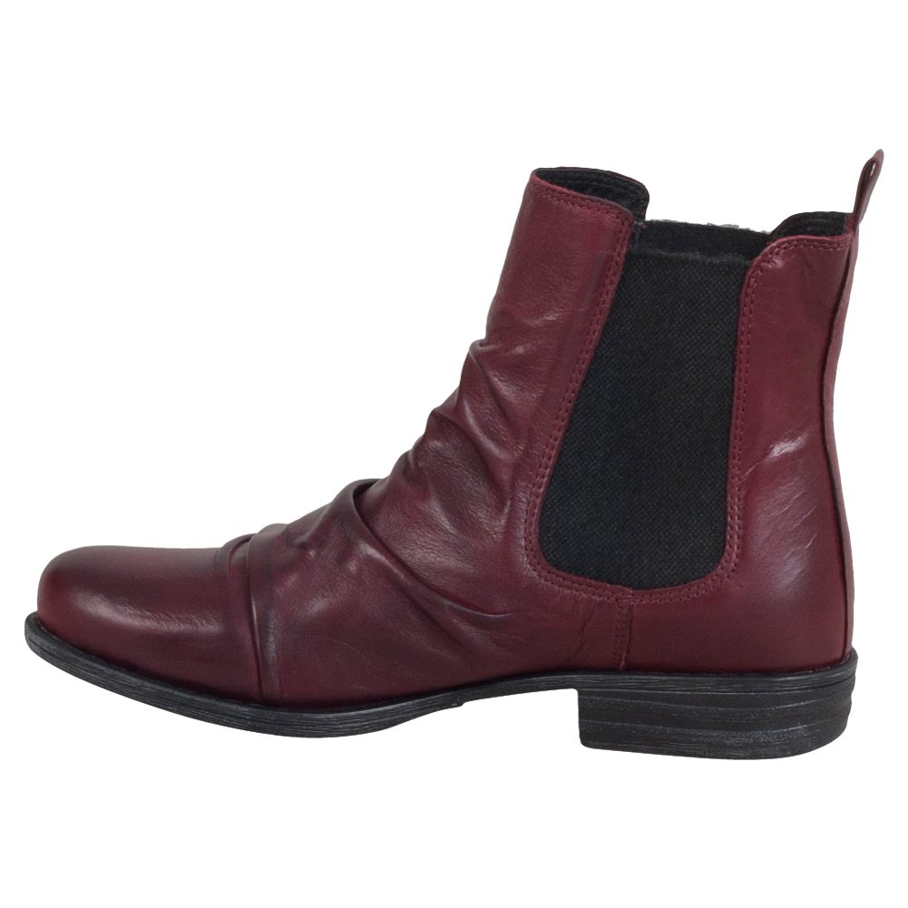 Miz Mooz Women's Lissie Ankle Boot B01FE6JNCA 11 B(M) US Wine