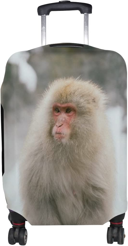 LEISISI Monkey Luggage Cover Elastic Protector Fits XL 29-32 in Suitcase