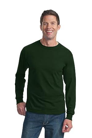 Camiseta de manga larga de algodón de alto gramaje, 4930R, de ...
