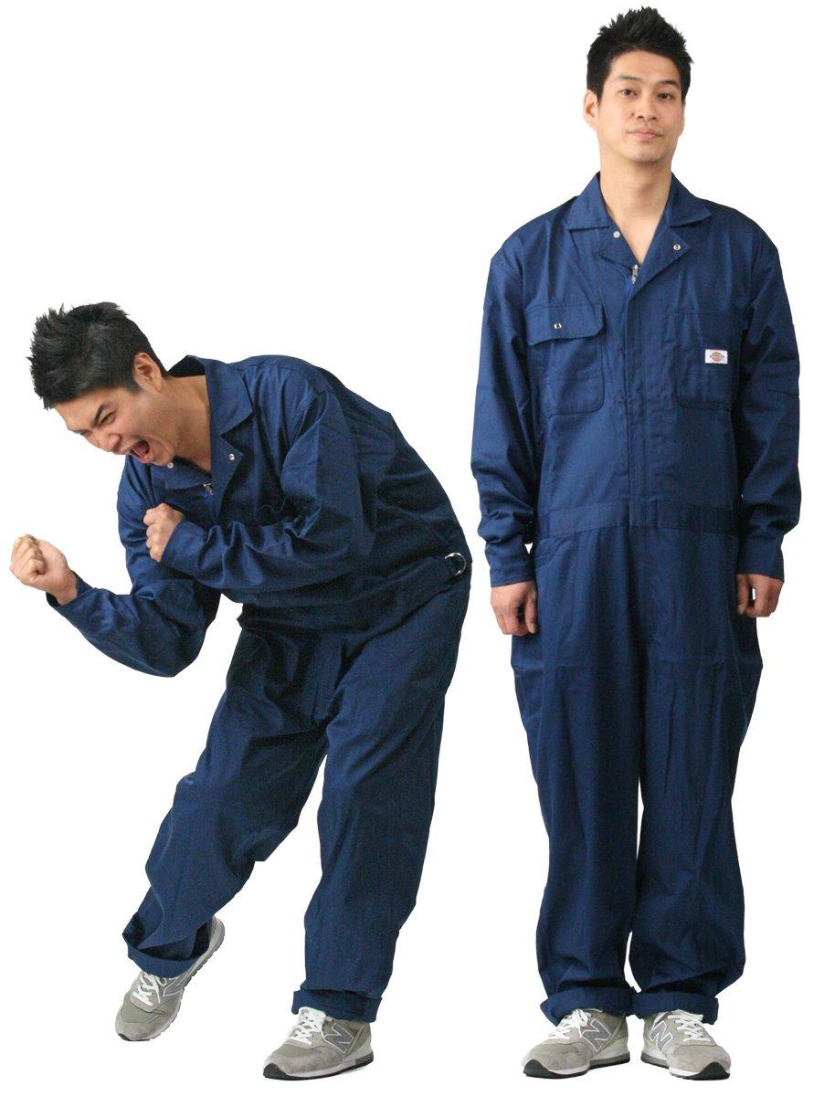 ディッキーズ Dickies (山田辰)オールシーズン用 ツヅキ服 1002 ネイビーブルー LLサイズ B008PO64LW LL|ネイビーブルー