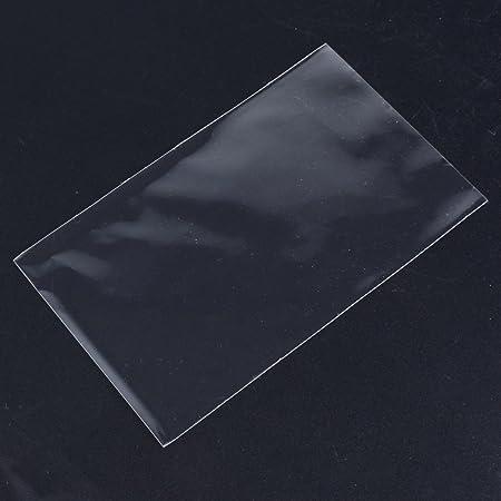 AONER 200pcs(9*15cm) Bolsas Celofán Transparente Plastico Pequeñas OPP para Caramelo Bombones Regalos Boda Fiesta (sin Adhesiva)