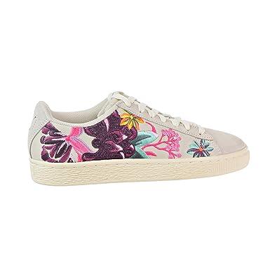 3c4b6142a0b PUMA Suede Hyper Emb Women s Shoes Whisper White Orchid 368137-01 (5.5 B