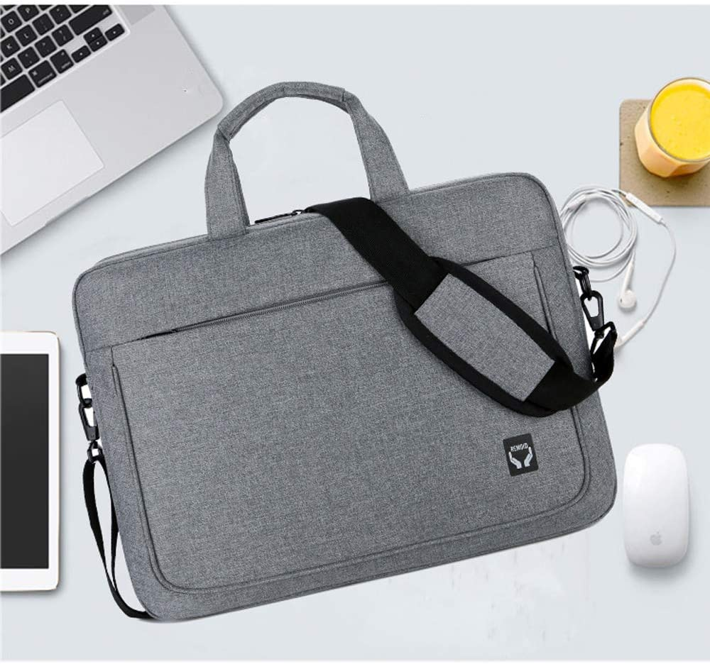 Unisex Business Briefcase Multi-Function Waterproof and Shockproof Laptop Bag TADYL 14.1 Inch Laptop Case