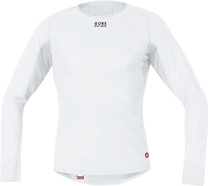 Gore Bike Wear Base Layer - Camiseta de ciclismo para hombre, tamaño S, color blanco: Amazon.es: Ropa y accesorios