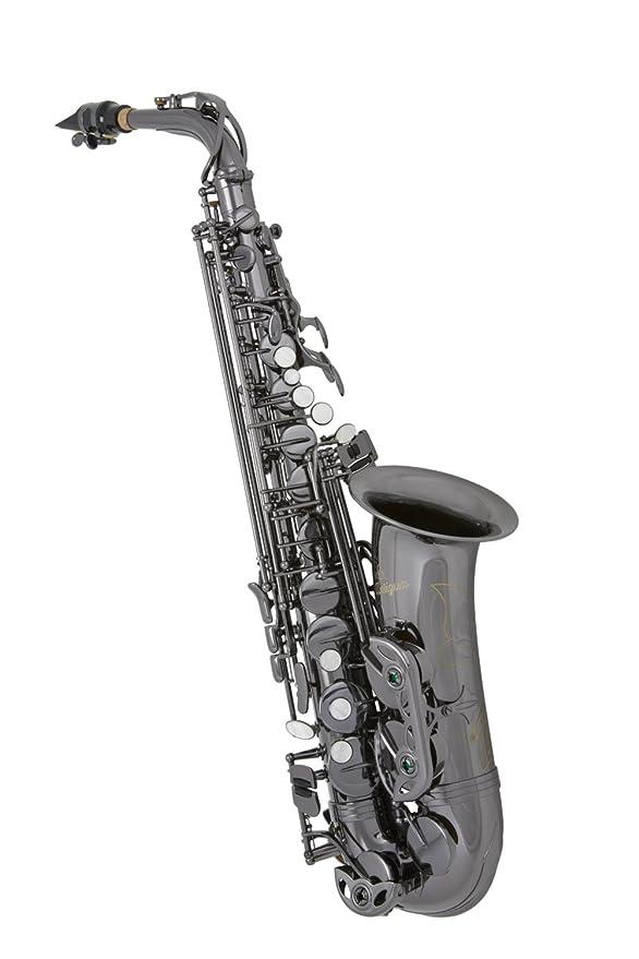 Antigua Winds AS3100 serie EB para saxofón alto cuerpo de níquel ...