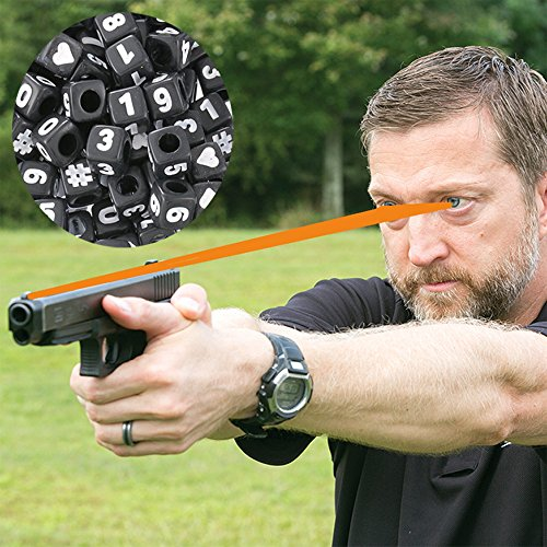 Advanced Focus String   Firearms Vision Training Tool   Train Your Eyes At Home  To Shoot Faster With Both Eyes Open   Free Online Video Instructions With Navy Seal Sniper Instructor Chris Sajnog