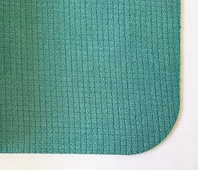 SISYAMA Folding Foldable Yoga Mat HOT HIIT Bikram Sweat Eco Knee Pad Travel Non Slip Mat