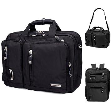 252cc957fce03 FreeBiz 17-Zoll-Laptop-Tasche Multifunktions -Laptop-Aktenkoffer -Rucksack  mit