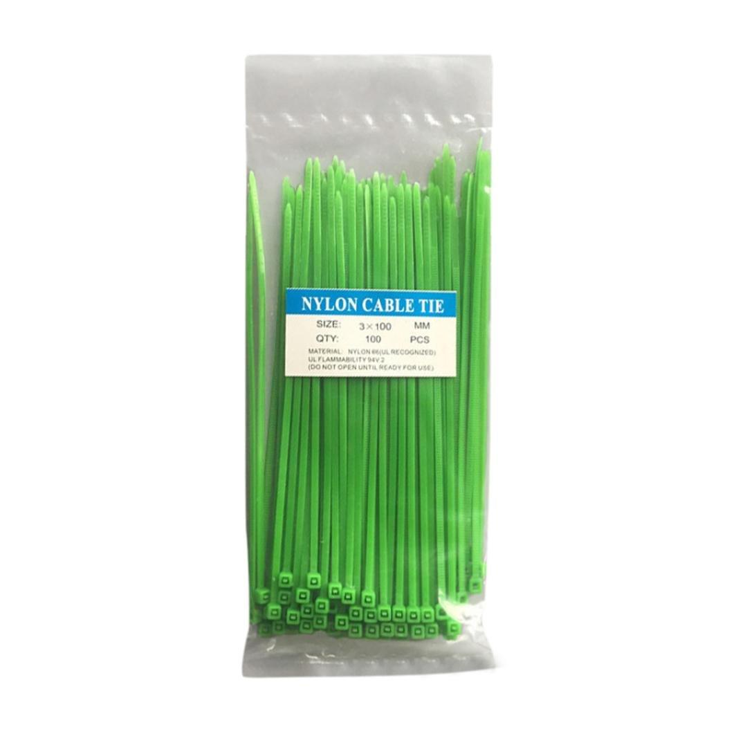 multicolore Winkey Lot de 100 colliers de serrage en nylon Autobloquants 100 mm//200 mm Extra longs Toutes tailles et couleurs