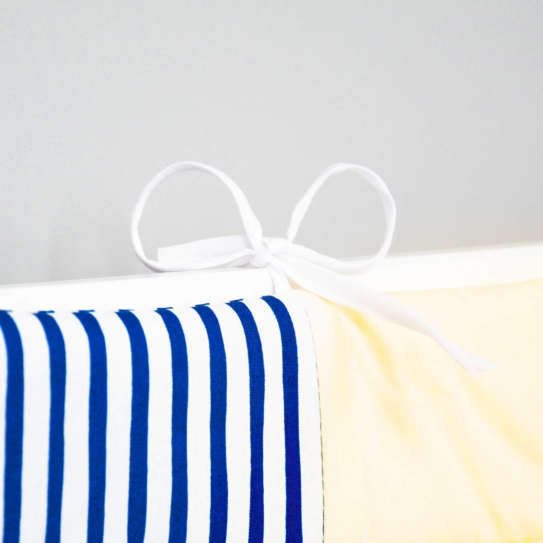 180x30 cm3 Amilian/® Bettumrandung Nest Kopfschutz Nestchen 420x30cm 180x30 cm Bettnestchen Baby Kantenschutz Bettausstattung MIX A3 360x30cm