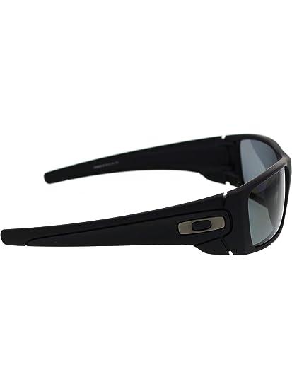 26da43cf00b Amazon.com  Oakley Fuel Cell Polarized Mens Sunglasses - Matte Black Grey  60mm  Oakley  Sports   Outdoors