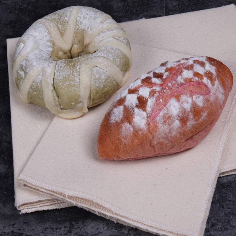 pane e pane 14/×18 Come da immagine Bakers Couche antiaderente Panno professionale in lino a prova di pane per baguette