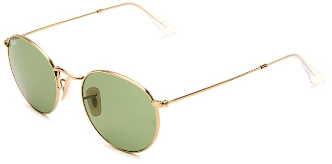 4ff43dee90 Ray-Ban ROUND METAL - ARISTA Frame CRYSTAL GREEN Lenses 50mm Non-Polarized