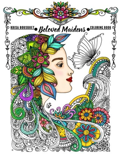 Beloved Maidens: Coloring Book (Volume 1) ()