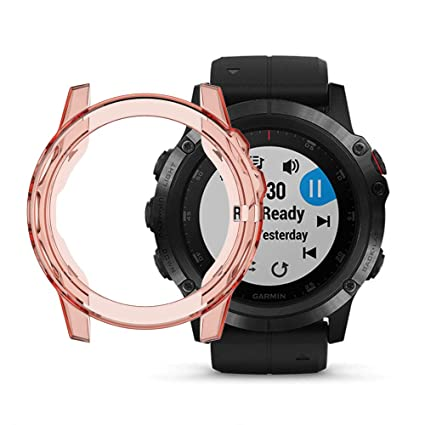 Amazon.com: ECSEM Case Compatible with Garmin Fenix 5X, Band ...