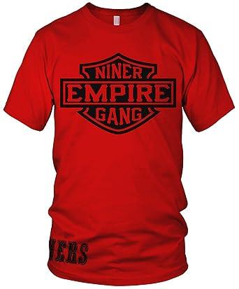 6fe659c17 Amazon.com  Millionaire Mentality Niner Empire Gang Red T-Shirt ...