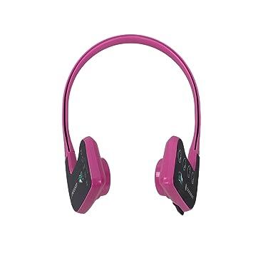 Reproductor de MP3 de conducción ósea Auriculares bluetooth natación impermeables mayores, Fitness, ocio, auriculares deportivos al aire libre: Amazon.es: ...