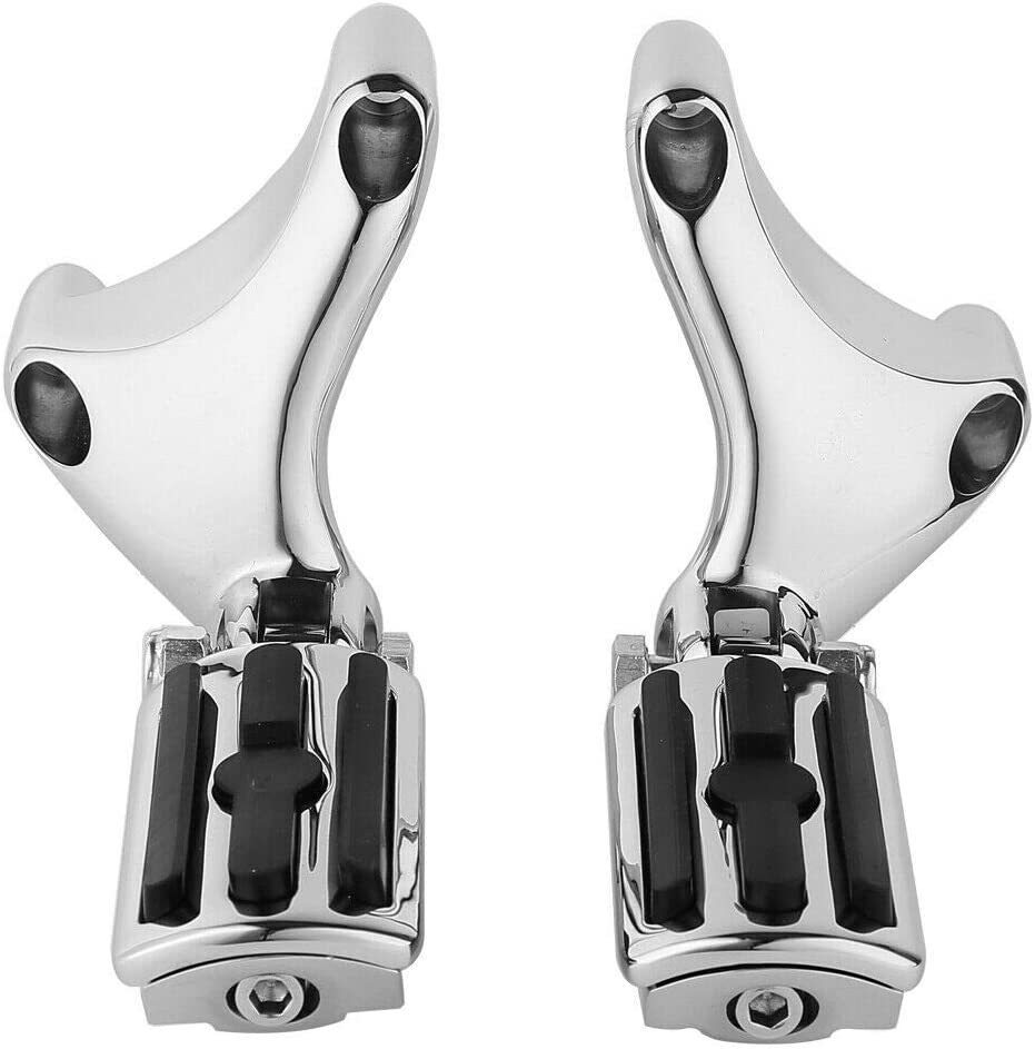 Green-L Passenger Foot Pegs Footrest Mount Fit For Harley Sportster 883 1200 SuperLow 04-13 2012 2011 2010 2009 2008 2007 2006 2005