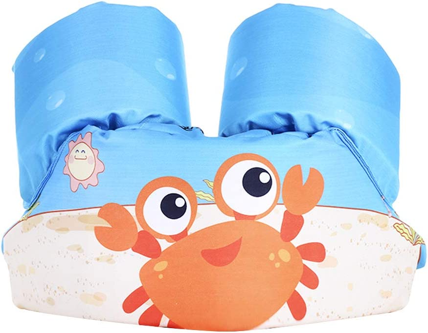 Surenhap Manguitos Bebe Armbands Juguete Hinchable para Niños Aprender a Nadar - Cangrejo