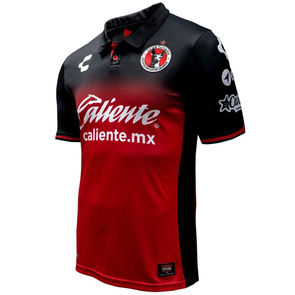 Amazon.com: Official Charly Club Tijuana Xolos Home Jersey Season 17/18 Red/Black (Small): Clothing