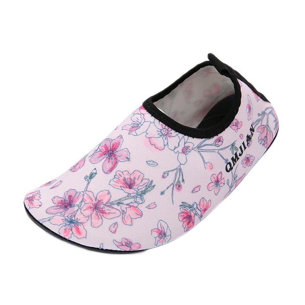 Bonboho Unisex Barefoot Water Skin Shoes for Women Mens Aqua Socks Surf Pool Yoga Beach Swim Exercise