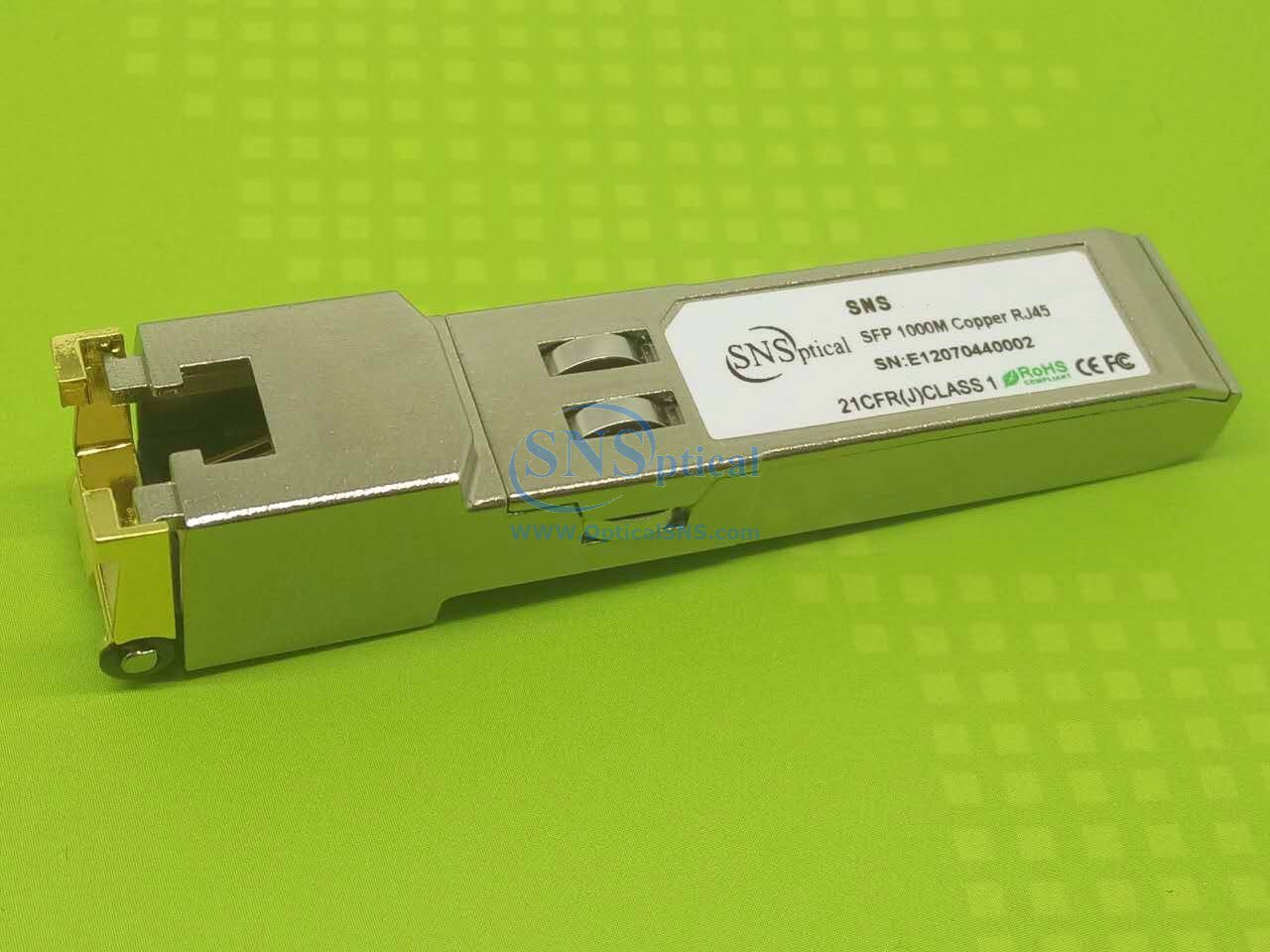 SnS 3HE00062AA Compatible with ALCATEL-Lucent 3HE00062AA 1.06G//1.25G SFP 100M SMF Transceiver Module